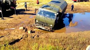 Amazing Russian Trucks, Big Trucks Stuck In The Mud, Trucks Pulling ...