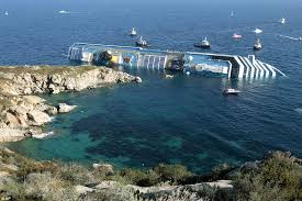 Cruise Ship Sinking Santorini by Costa Concordia Wreckage Torn Apart For Scrap 5 Years After The