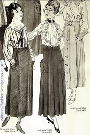Two Normal Skirts With 1917 Pocket Variations The Skirt In Center Is Weird