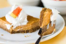 Pumpkin Gingersnap Cheesecake Bars by Maple Pumpkin Cheesecake Bars Brown Eyed Baker