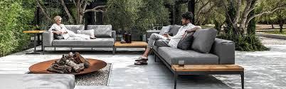 canapé de jardin design mobilier de jardin design sifas outdoor dedon flexform royal