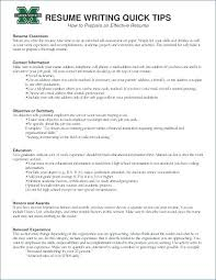 Resume Objective Examples For Retail Sample Resume Objective For