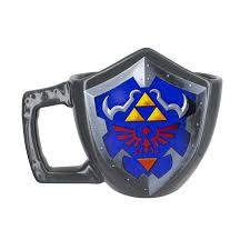 Zelda Triforce Lamp Uk by Amazon Com Hylian Shield Legend Of Zelda Coffee Mug Toys U0026 Games