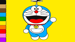 Coloring Doraemon And Friends