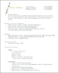 Elementary Teacher Resume Examples 2014 Educator Example Teaching Sample Resu