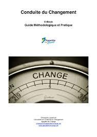cabinet de conseil conduite du changement conduite du changement guide méthodologique