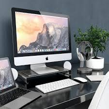 apple bureau for apple macbook desktop monitor base notebook stand bracket