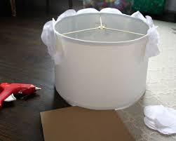 Diy Lampshade Fabric Flower Bedroom Ideas Home Decor Lighting Reupholster