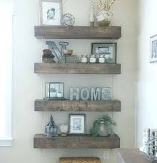 Rustic Bathroom Shelves And Decor Inspiration Rope Pulley Floating 19 With Hooks