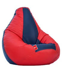 ComfyBean - Teardrop Shape - Bean Bag - Size Jumbo - Filled With Beans  Filler Ccc Red Indigo Ccc - Buy ComfyBean - Teardrop Shape - Bean Bag -  Size ...