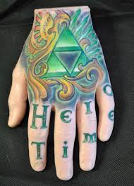 Zelda Tattoos Synthetic Hand