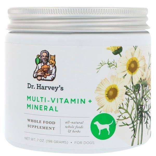Dr. Harvey's Multivitamin & Mineral Herbal Supplement for Dogs - 7oz