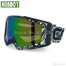 großhandel klare linse moto brille motocross brille staub brille 100 uva schutz einstellbarer kopfbügel motorradbrille goree86 12 98 auf