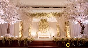 Karli And Sarahs Wedding Reception Venue At Dharmawangsa Hotel Decorated By Steve Decor