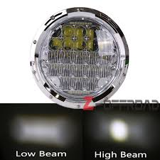 for harley touring 7 motorcycles led headlight projector daymaker