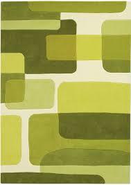 Modern Carpet Green Texture