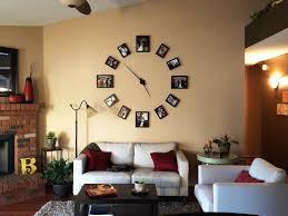Natural Decoration Diy Wall Clock Large Ideas