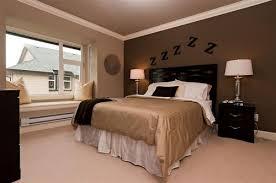 brown accent wall in bedroom bedroom