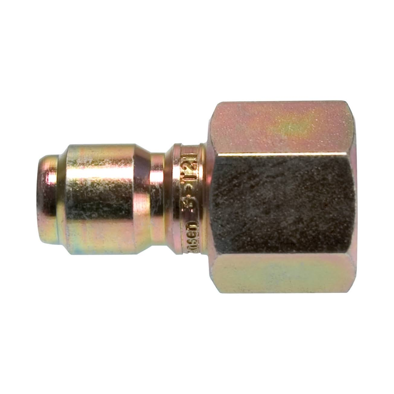 "Forney 75137 Pressure Washer Accessories Quick Coupler Plug - 3/8"" Female"