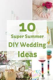 10 Super Summer DIY Wedding Ideas
