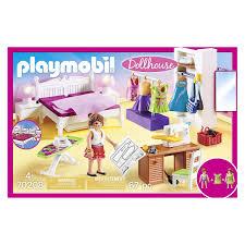 playmobil 70208 dollhouse schlafzimmer mit nähecke