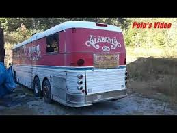 Old Alabama Silver Eagle Tour Bus 10 3 17