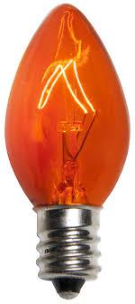 c7 light bulb c7 orange light bulbs