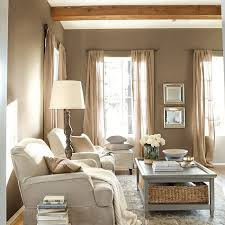 A Rustic Living Room In Warm Tones These Are My Colors And Love The Burlap Curtains Massey