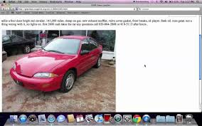 Craigslist Green Bay Wisconsin Used Cars, Trucks And Minivans ...