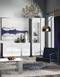 wohnzimmer komplett set b antioch 3 teilig farbe weiß glanz hellgrau
