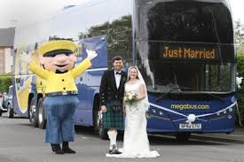 megabus com low cost tickets megabus com transports guests to mega wedding stagecoach