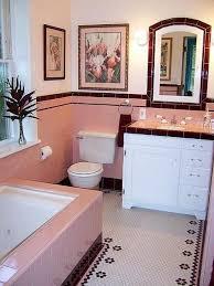 rosa fliesen badezimmer deko ideen badezimmer pink