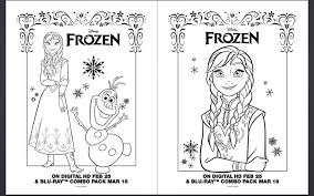 5 Best Images Of Frozen Printable Coloring Birthday Cards