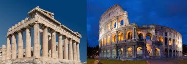 Natural Limestone Roman Coliseum Acropolis