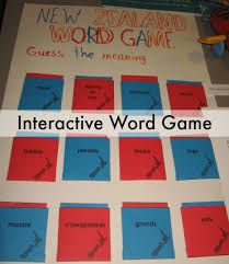 Interactive Word Game For A Geography Fair Project