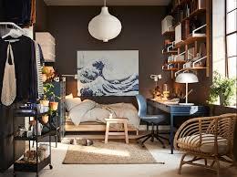gemütliches schlaf und arbeitszimmer ikea deutschland
