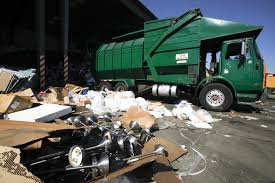 Trash Haulers Will Compete For Exclusive Rights To L.A.'s Garbage ... Trash Truck Drivers And Workers Stock Vector Stmool 88306228 Garbage Trucks Load Erupts In Flames San Antonio Expressnews Woman Who Hit Truck Driver Facing Trial Youtube Driver Spills Of Trash Puts Out Fire Forks Red River Garbage Damages Parked Pickup Fort Tough Start To The Week For A Regina 620 Ckrm Dump L For Kids Amazoncom When I Grow Up Waste Removal T Videos Children Dumpster 3d Play Saves 93yearold Woman From California Lawsuit Filed After Sexual Harassment Forces