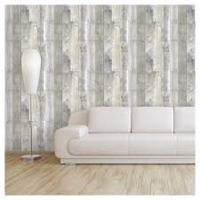 Devine Color Reclaimed Wood Peel Stick Wallpaper