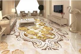 3D Epoxy Floor For Living Room