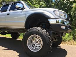 8 2003 Tacoma Toyota Fabtech Suspension Lift 6in Body 3in Weld Racing Sidewinder Polished