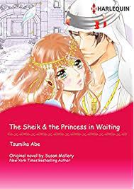 The Sheik Princess In Waiting Harlequin Comics Desert Rogues