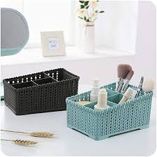 badezimmer kosmetikkorb kunststoff deckelfreien desktop