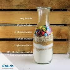 backmischung im glas verschenken 4 leckere rezepte talu