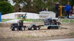 100 1 4 Scale Rc Semi Trucks Race Track For Radiocontrolled Vehicles Opens In Christchurchs Red