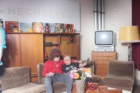 bilder photobooth 70er jahre wohnzimmer event fotos
