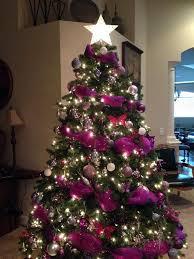 Cute Ideas For Purple Christmas Tree Decoration