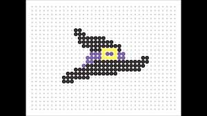 Halloween Hama Bead Patterns by Hama Bead Witches Hat Halloween Series 13 Youtube