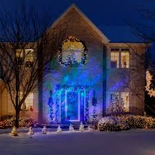 Lightshow Christmas Lights Projection Northern Sky by Gemmy