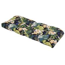 Outdoor Bench Cushions Home Depot by Tufted Bench Cushions Outdoor Cushions The Home Depot