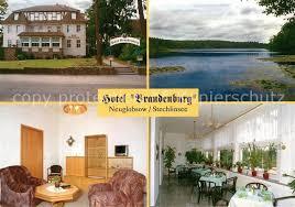 ak ansichtskarte neuglobsow hotel brandenburg restaurant